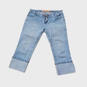 Apple Bottom Like New Capri Pant Jeans Like Great!